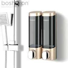 new soap dispenser for kitchen wash shampoo dispenser bottle wall mounted abs plastic wall
