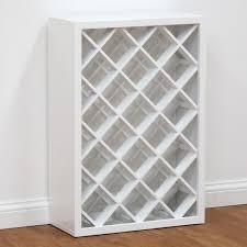 White Wine Rack | Wine Rack Cabinet - White main product photo
