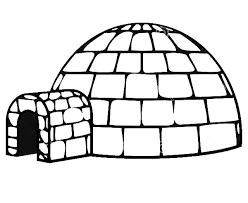 Small Picture Get Inside an Igloo Coloring Pages Bulk Color