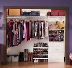 reach in closet organizers do it yourself. Reach-in Closet Using ClosetMaid Wire Shelving And DIY Stackable Orgainzers In White. Reach Organizers Do It Yourself Y
