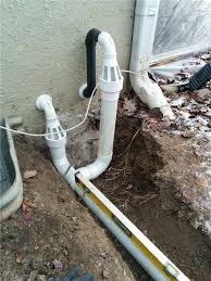sump pump discharge pipe. Delighful Pump Basement Waterproofing  Sump Pump Discharge Line Installed With IceGuard To Pump Discharge Pipe