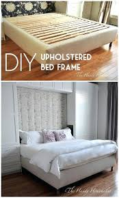 diy king size bed frame upholstered king size bed frame easy bed frame projects you can diy king size bed frame