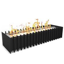 home ethanol fireplaces ethanol grates inserts elite flame 24 inch ventless bio ethanol fireplace grate burner insert 4 8 liter