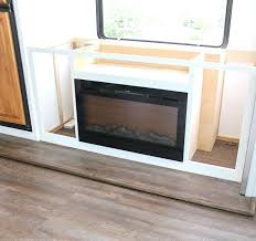 rv electric fireplace renovating your come see how were installing a lift 26 rv electric rv electric fireplace illuminations