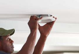 mount the light recessed lighting an existing ceiling