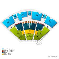 Pnc Pavilion Cincinnati Seating Chart 13 Complete Pnc Pavillion Seating Chart