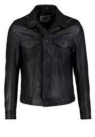 schott made in usa 120 leather jacket dark navy men clothing jackets blue schott