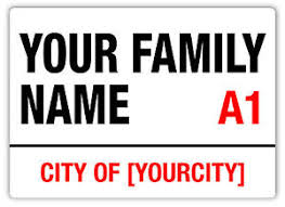 image is loading wtf personalised family street sign metal wall sign  on personalised metal wall art uk with wtf personalised family street sign metal wall sign plaque art