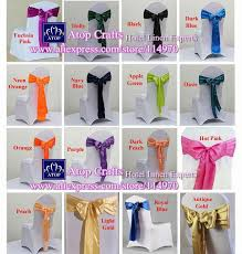 100pcs mint green banquet chair bow tie satin chair sashes for party event wedding decoration