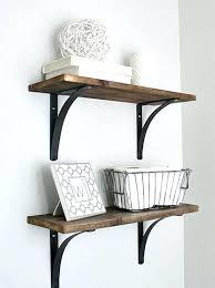 wood shelves for bathroom wall bathroom wall shelf ideas rustic wood