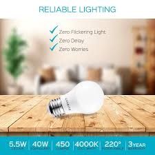 Luxrite Led Lights Luxrite A15 Led Light Bulb 40w Equivalent 4000k Cool White