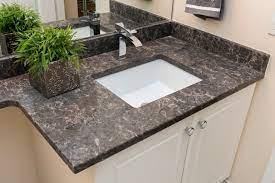 bathroom vanity silestone countertop