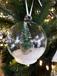Durchsichtige Weihnachtskugeln Weihnachtsbaum Deko
