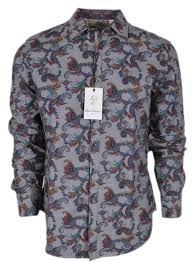 Robert Graham Shirt Size Chart New Robert Graham 298 Massif Paisley Print Cotton Classic