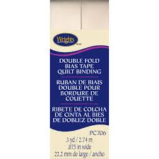 Find the Wrights® Double Fold Quilt Binding Bias Tape at Michaels &  Adamdwight.com