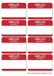 Avery 5395 Name Badges Rose Name Badges Printable Template Free Templates For Avery 5395