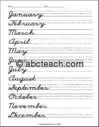 cursive word practice a quality educational site offering 5000 free printable theme units