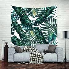 tapestry wall art banana forest scenery mandala tapestry wall hanging cloth bedroom curtains home decor wall