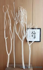 Cool White Tree Branches Decorative Branch Decor Home Design 3