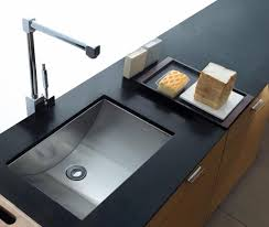 Granite Undermount Kitchen Sink How To Build A Tile Countertop With Undermount Kitchen Sinks