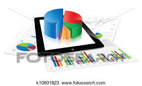 Tablet Chart Tablet Chart Clipart K10601823 Fotosearch