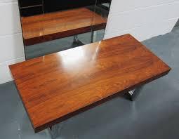 Gordon Russell Coffee Table Mid Century Rosewood And Chrome Coffee Table From Gordon Russell