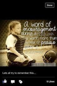 Encouragement Softball ⚾ Softball Quotes Pinterest Awesome Pinterest Softball Quotes