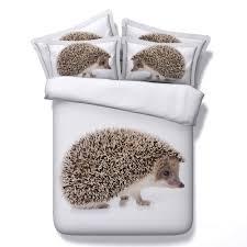 popular duvet covers animal print buy cheap duvet covers animal jf 134 lovely animal print hedgehog duvet cover set twin size bedding gift for kids