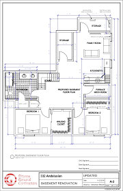 How To Design Basement Floor Plan Amazing 48 ANDALUSIAN UPDATED PROPOSED BASEMENT PLAN