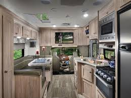 interior of a used 2019 forest river forester 2421ms cl c motorhome
