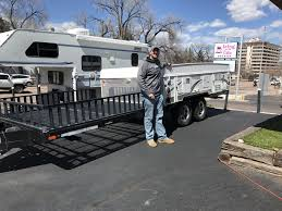 congratulations to james and lisa beda on their 2016 forest river flagstaff mac 28 tsc br toy hauler pop up