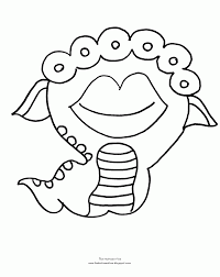 Small Picture Monster Coloring Pages For Halloween Coloring Home