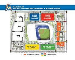 Marlins Parking Garage Map Map Rockabillyroundup