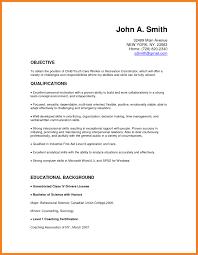 Child Care Resume Sample No Experience Sample Resume For No Experience Teacher New Prepossessing Sample 2