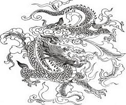 Small Picture Chinese Dragon Coloring Pages coloringsuitecom