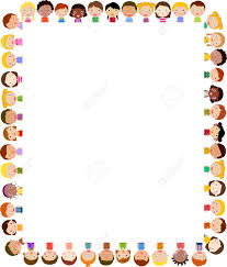 Kids Certificate Border Simple Kids Frame Clipart