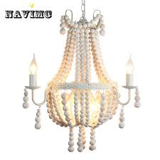 modern nordic antique white wood chandeliers lighitng for hotel hall dining room restaurant pendant lamp