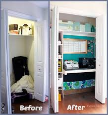 office closet. beautiful closet in bad need of closet storage so i gave it a makeover and office e