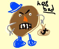 mr potato head drawing. Fine Head Mr Potatohead Breaks Bad Intended Mr Potato Head Drawing I