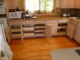 image of cabinet pull out shelves kitchen pantry storage