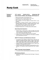 Prep Cook Resume Resumes Objective No Experience Thomasbosscher