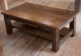 corner storage solid wood handmade coffee table
