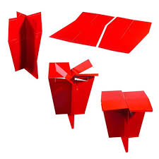 minimalist furniture design. Contemporary Minimalist Home Interior Furniture Design Ideas Origami Side Table By MIO 1 N