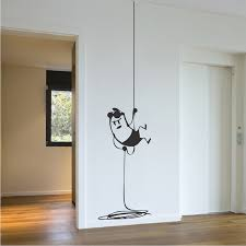 intruder wall decal decor zoom