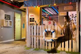 the concept the keyword spa has been chosen for the office in budapest since more than 500 springs are present in the hungarian capital city atmosphere google office