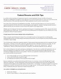 Federal Resume Format Sample Federal Resume Lovely Examples Of Federal Government Federal 24