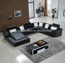 Beanbag Armchair Europe Style Home Furniture Sofa Set Top Grade Cow Genuine  Leather Living Room Sofas With Solid Rubber Carving -in Living Room Sofas  from ...