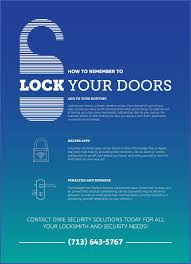 lock your door. Perfect Your How To Remember Lock Your Doors Infographic In Lock Your Door