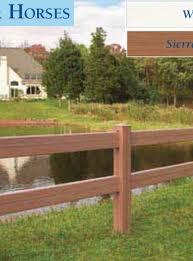brown vinyl horse fence. Vinyl Horse Fencing Brown Fence O