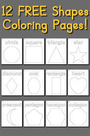 Small Picture FREE Heart Coloring Page Shapes Coloring Pages